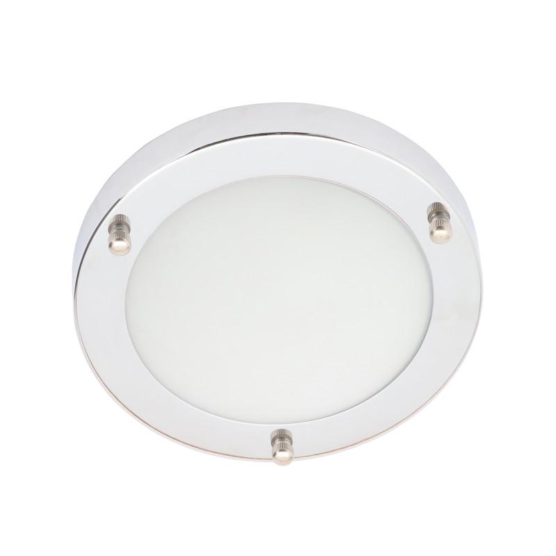 Delphi IP44 Chrome Integrated LED Bathroom Light