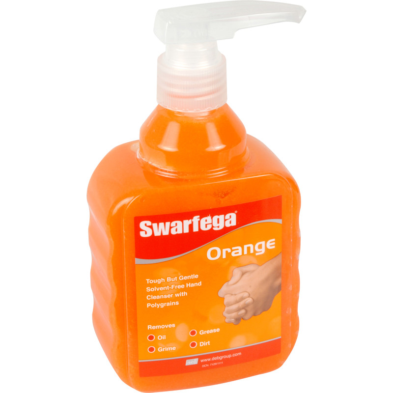 Swarfega Orange Hand Cleanser Pump