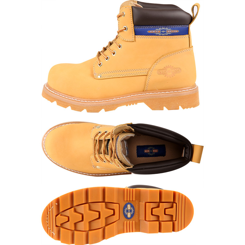 ProMan Nubuck Safety Boots Size 10