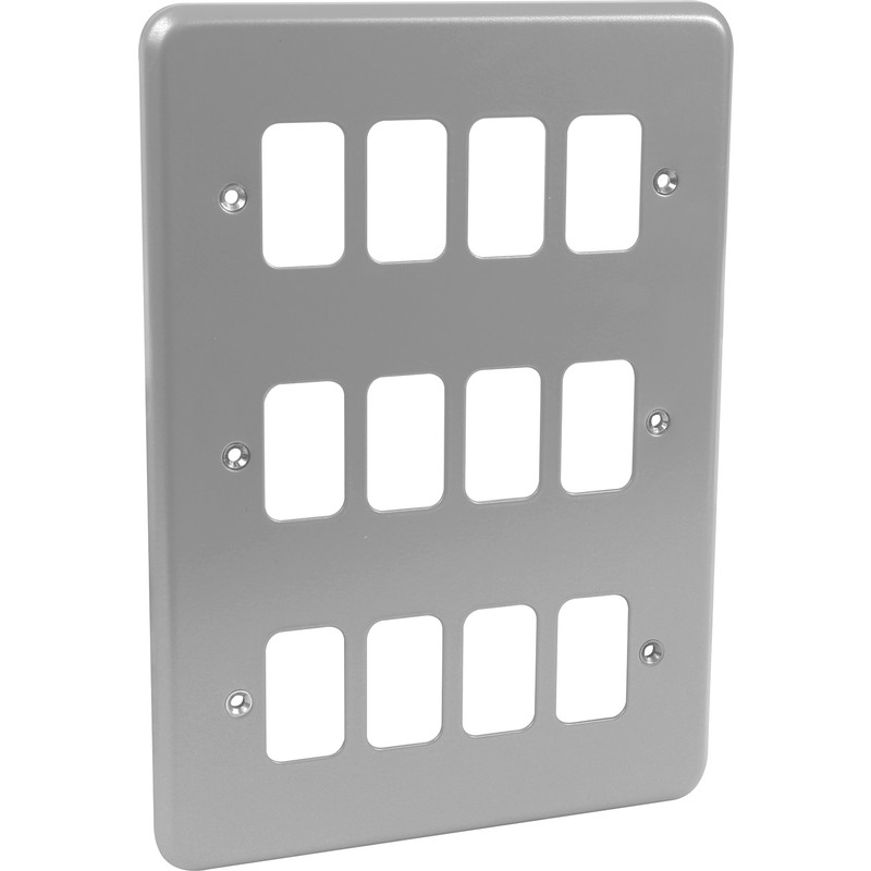 MK Grid Plus Metal Front Plate