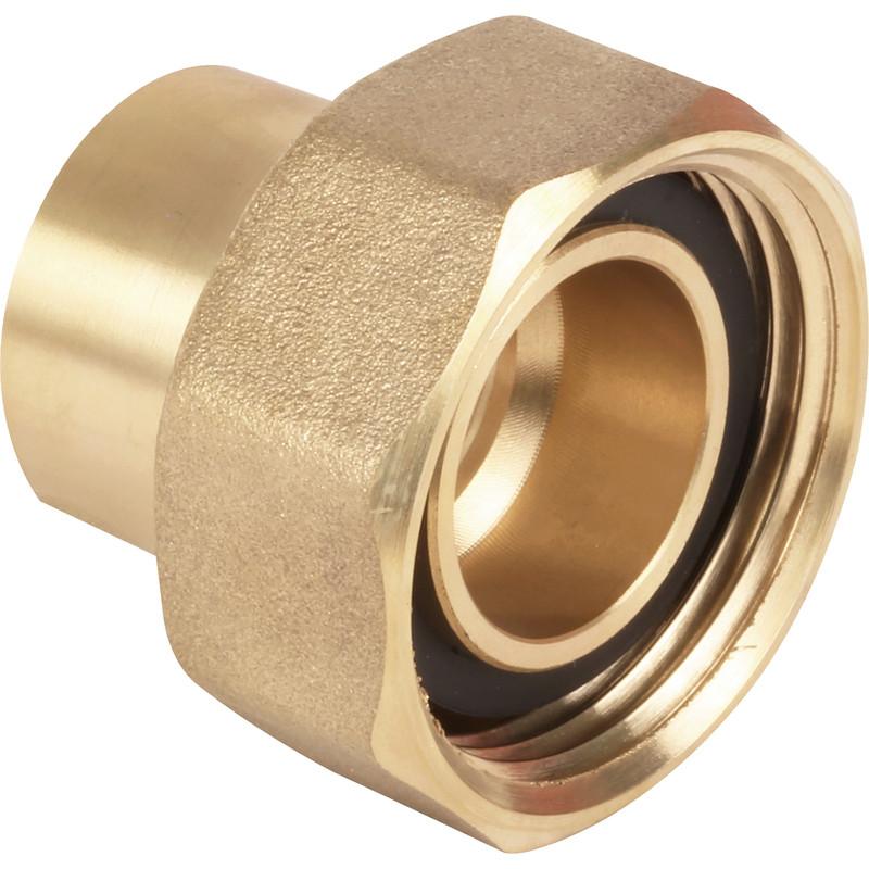 NEW 4 x plumbing Gas Meter Union 22mm Grooved Each FreePost.UK Seller