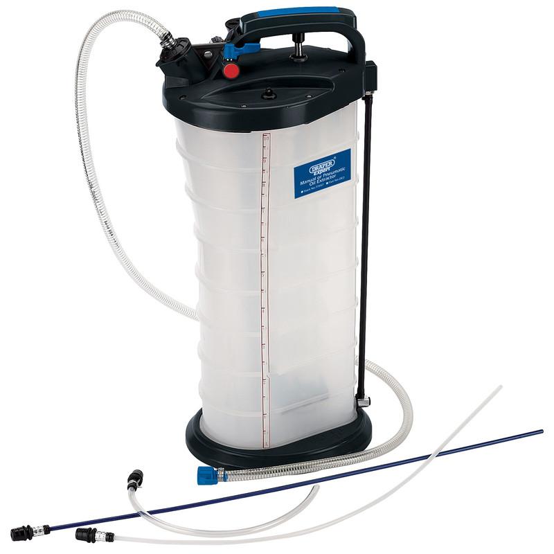 Draper Expert Manual / Pneumatic Oil Extractor