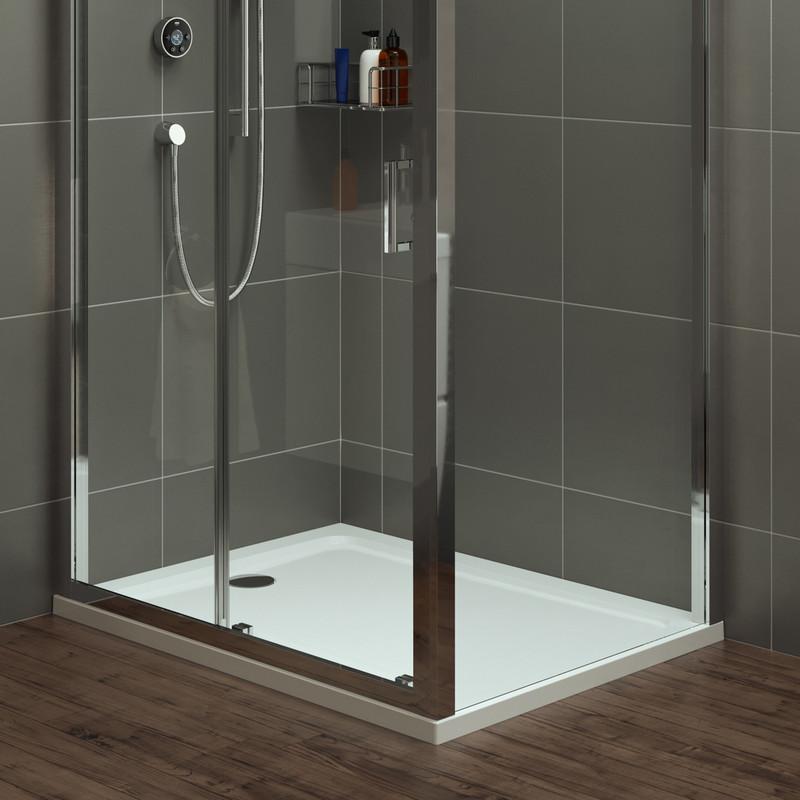 Mira Flight Safe Rectangular Shower Tray