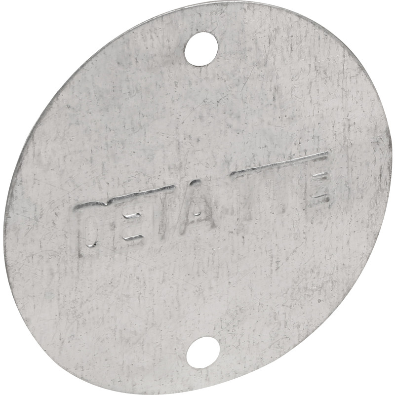 Deta Metal Box Lid Light GV
