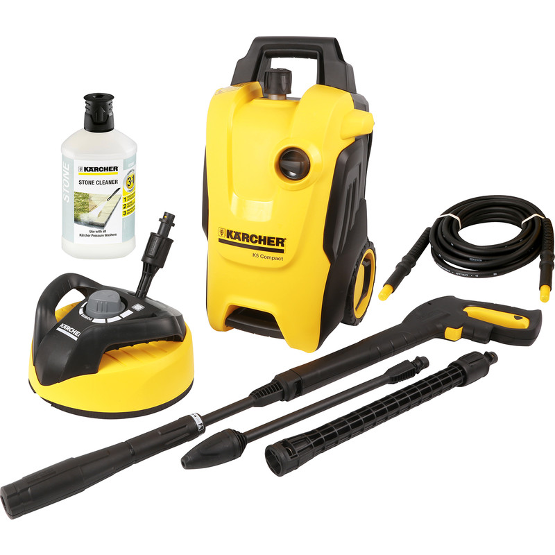 Splitter nya Karcher K5 Compact Home Pressure Washer 240V 145 bar FL-36