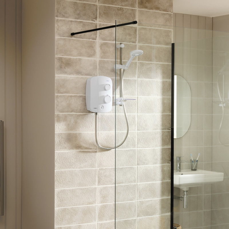 Triton Silent Thermostatic Power Shower