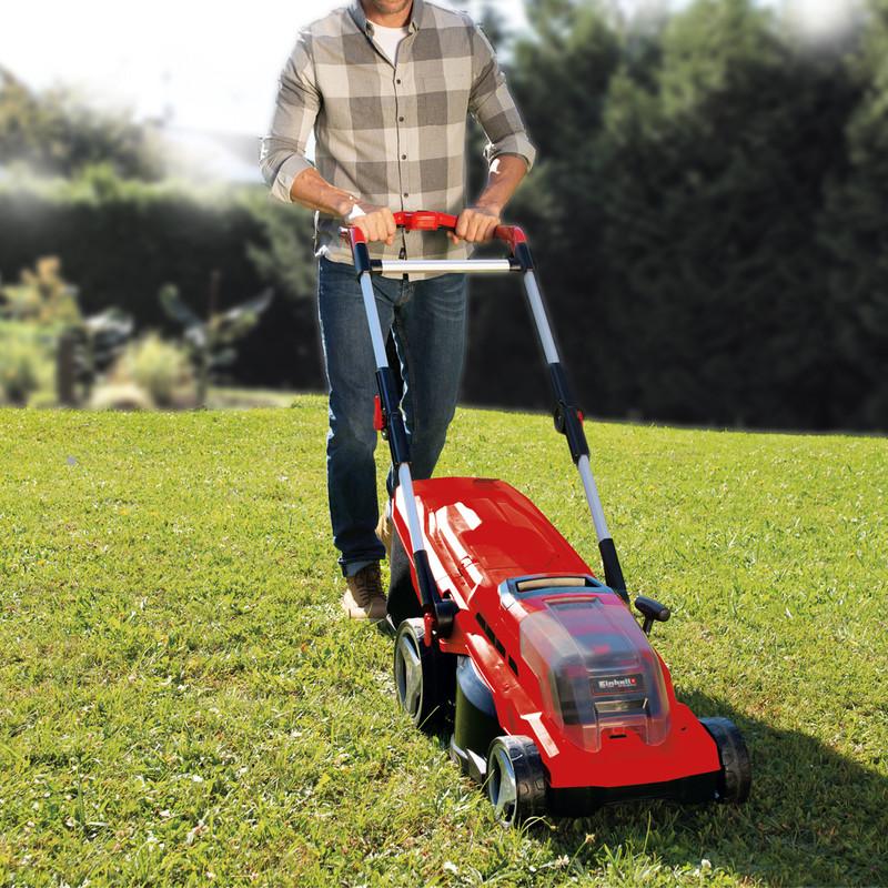 Einhell Expert GE-CM 36/37 Li 36V (2x18V) 37cm Cordless Lawnmower