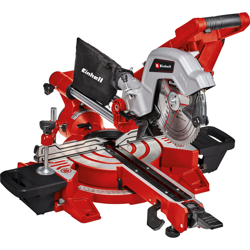 Einhell 216mm Double Bevel Sliding Mitre Saw