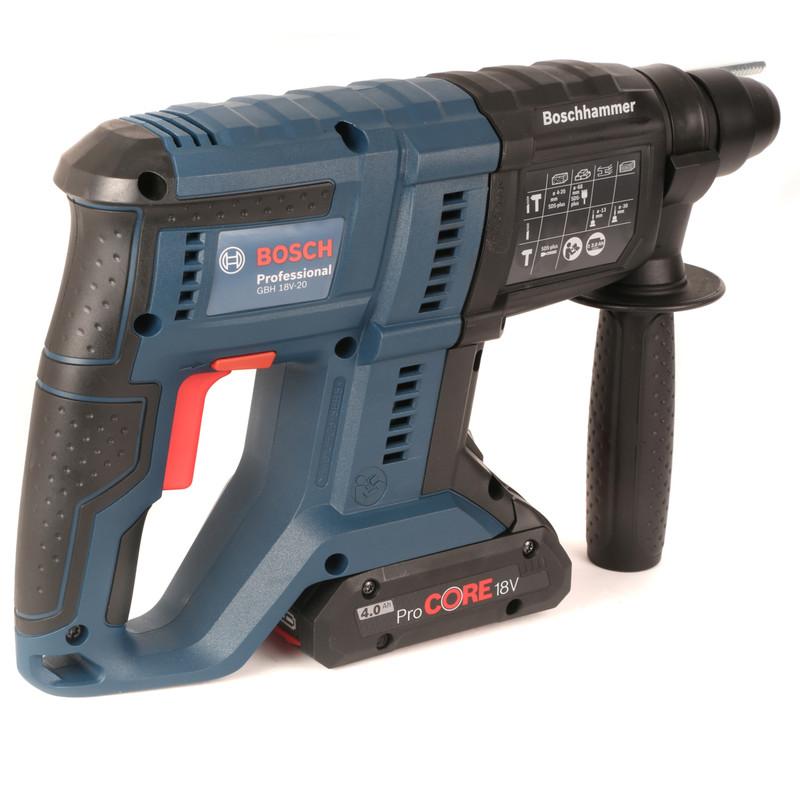 Bosch GBH 18-V20 18V SDS Plus Cordless 3kg Hammer Drill