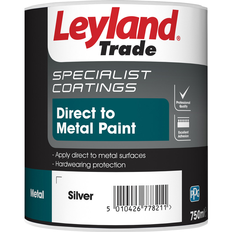 Smooth Finish Metal Paint 500ml Silver