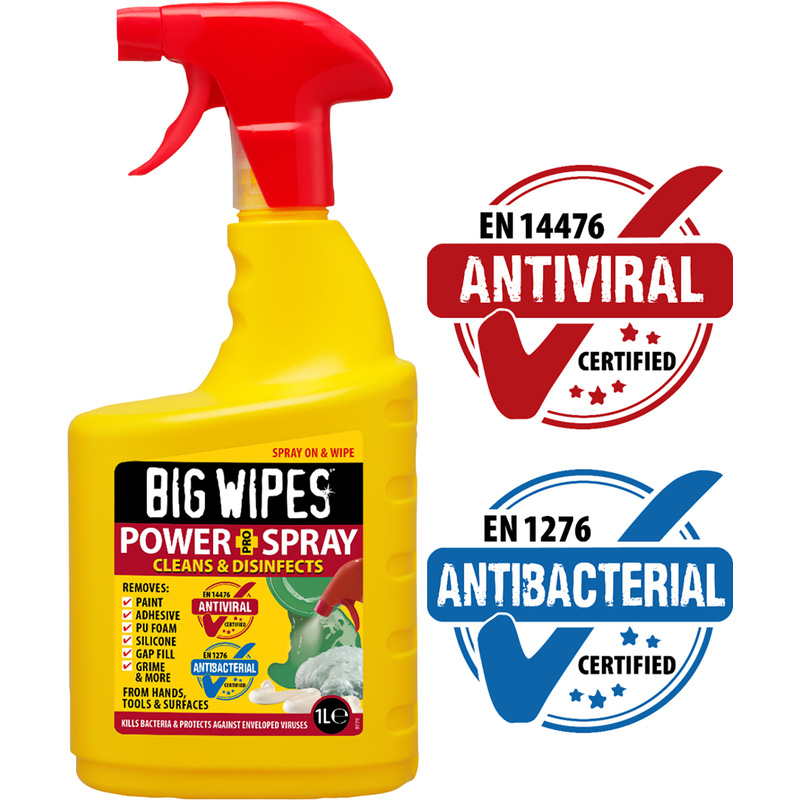 Big Wipes Power Spray