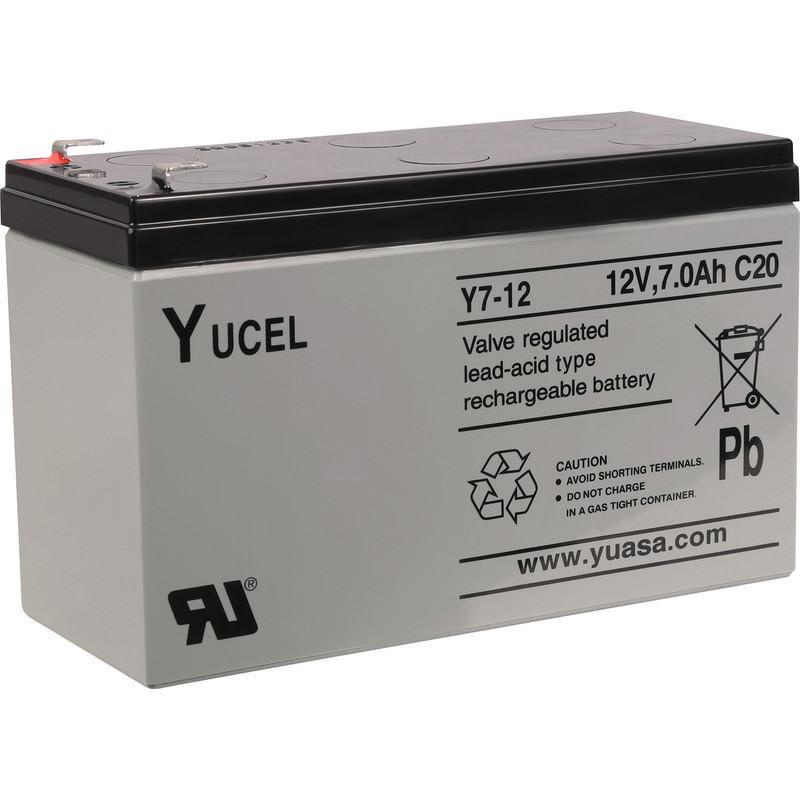 ESP 12V 7Ah Alarm Panel Battery