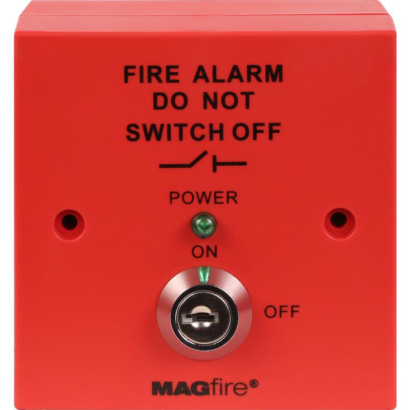ESP Fire Alarm Panel Isolator Switch Red
