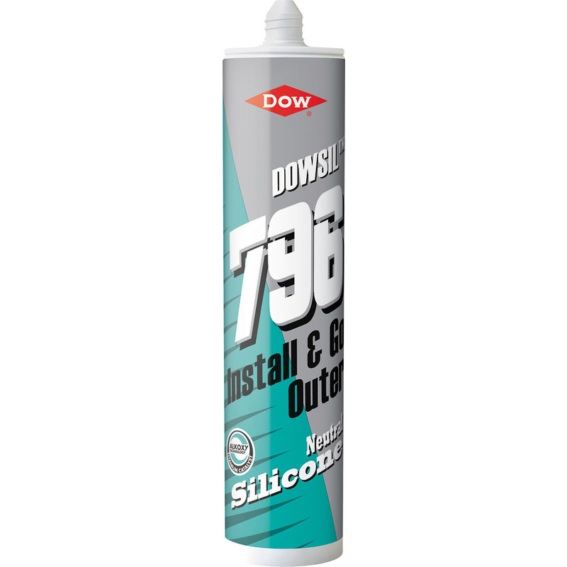 Dowsil 796 PVCu, Aluminium & Wood Silicone Sealant