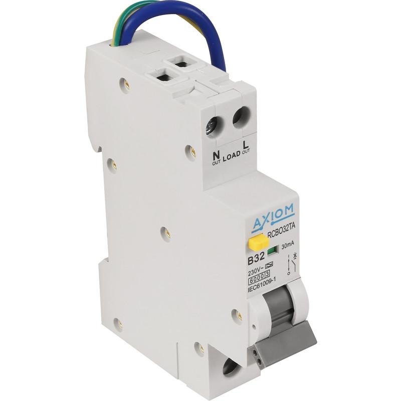 Axiom Mini RCBO A Type