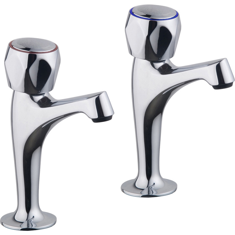 Ebb + Flo Contract Pillar Kitchen Taps