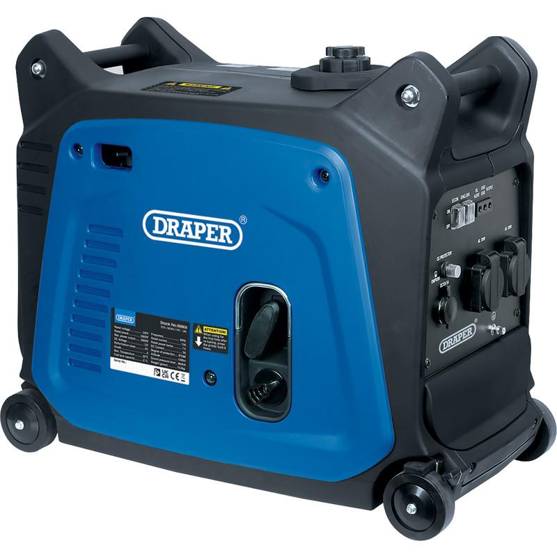 Draper 2.8kW Close Case Inverter Generator
