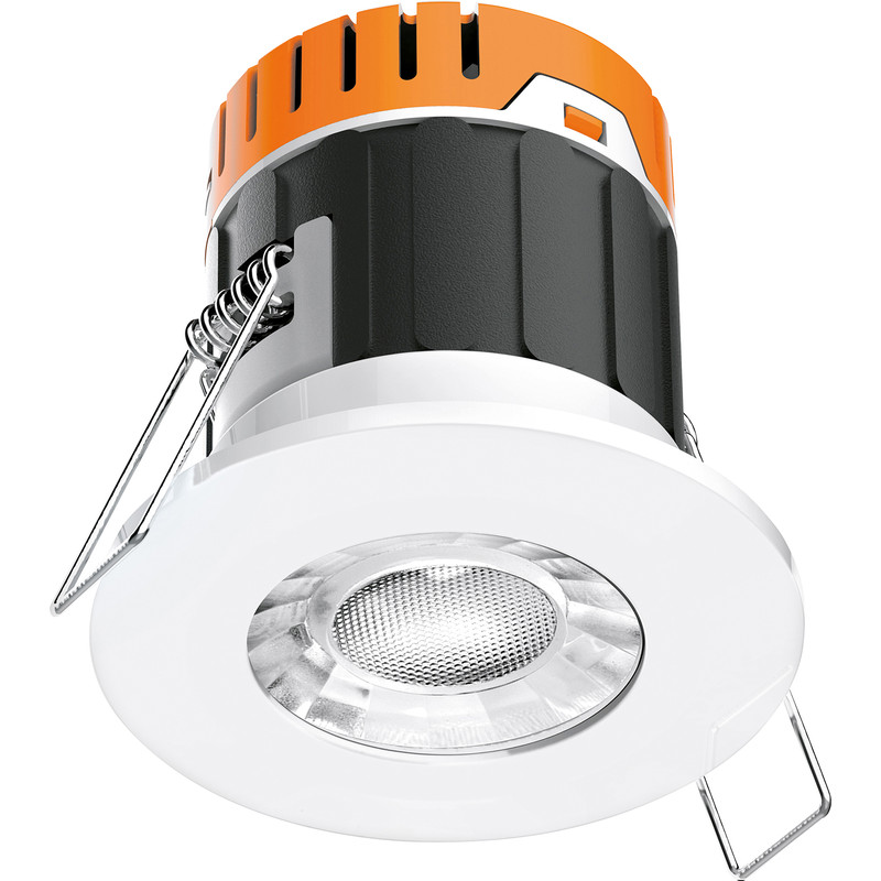 Enlite E5 4.5W Fire Rated Dimmable IP65 LED Downlight