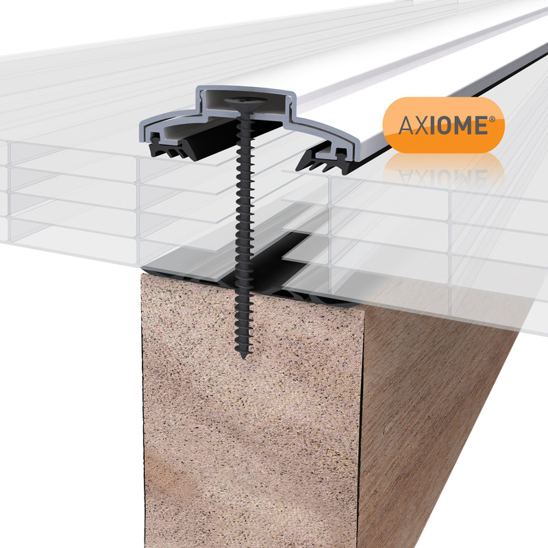 Axiome 25mm Polycarbonate Opal Fivewall Sheet