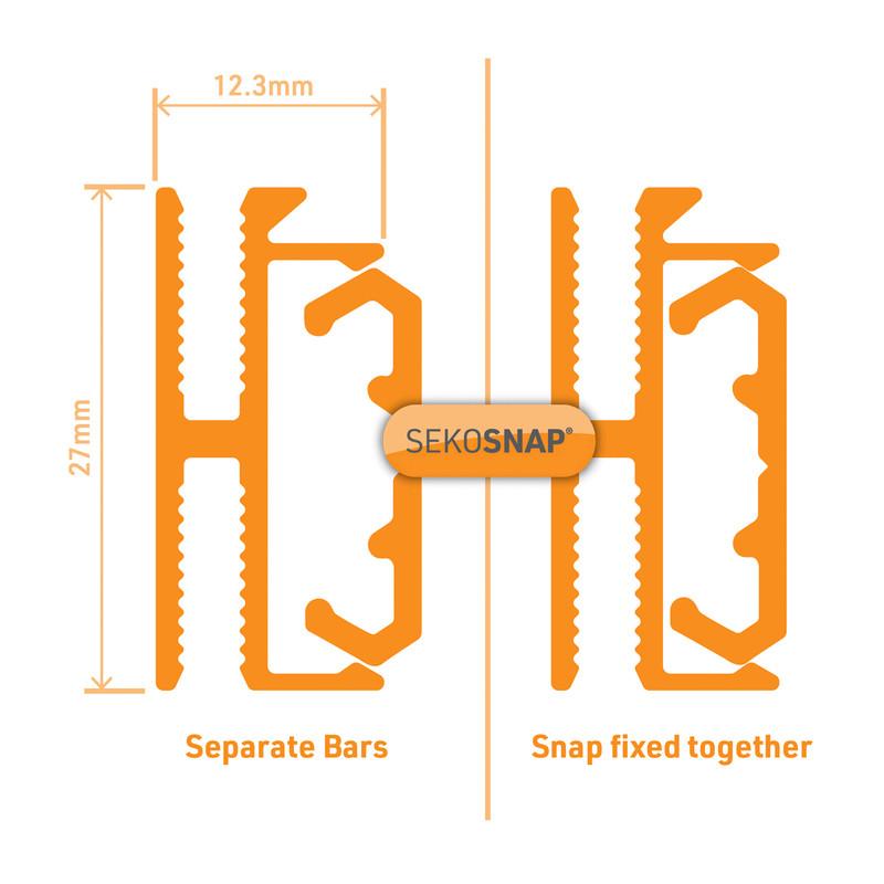 Sekosnap H Connector Fix Kit
