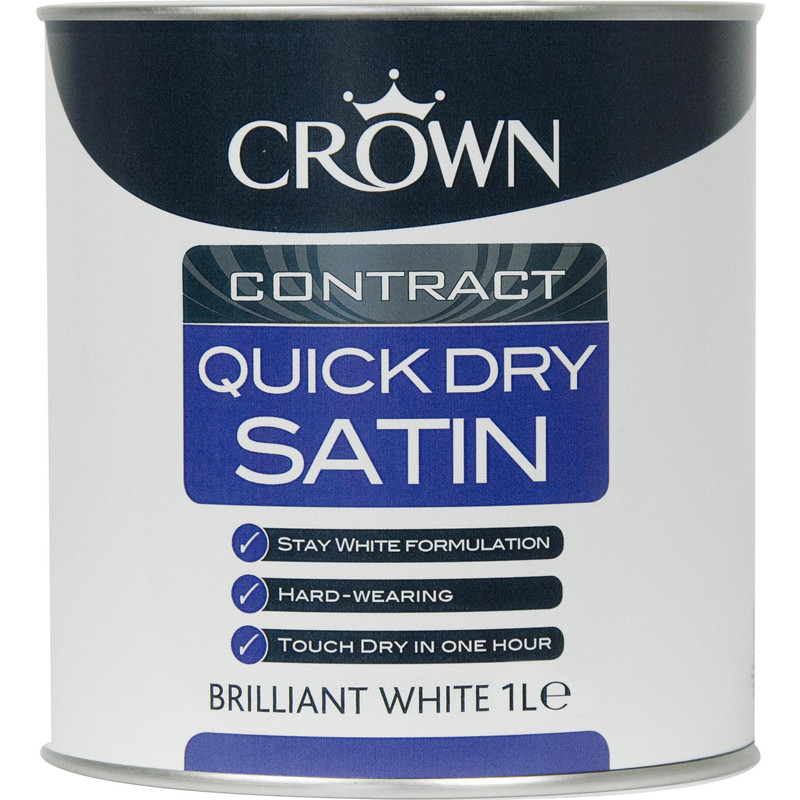 Crown Contract Quick Dry Satin Paint