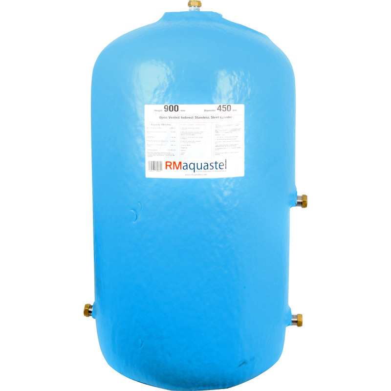Stelstor Aquastel Stainless Indirect Vented Hot Water Cylinder