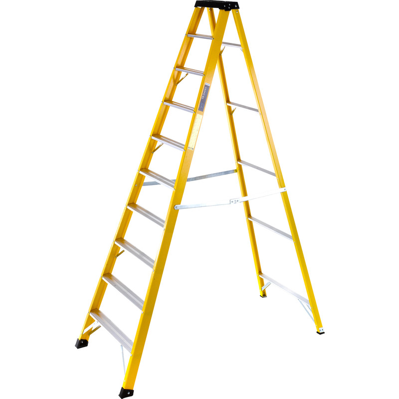 TB Davies Fibreglass Swingback Step Ladder
