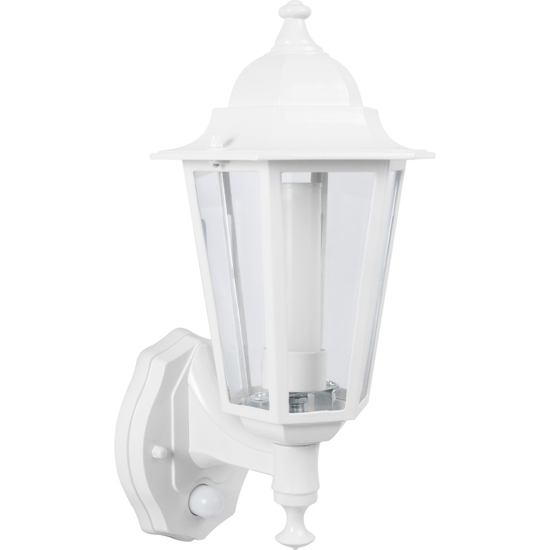 P-Lux 8W LED Photocell & PIR Coach Lantern