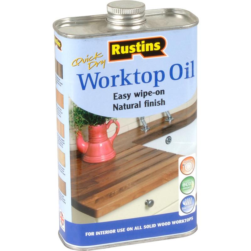 Rustins Worktop Oil 500ml
