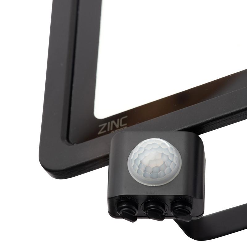 Zinc Slimline LED PIR Floodlight IP65