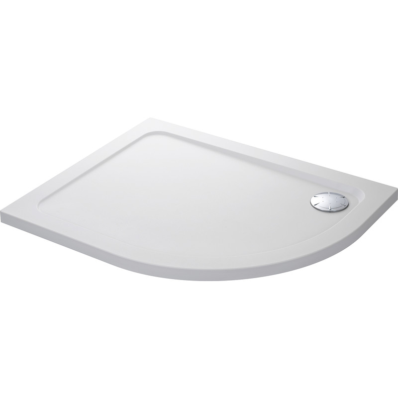 Mira Flight Safe Offset Quadrant Shower Tray