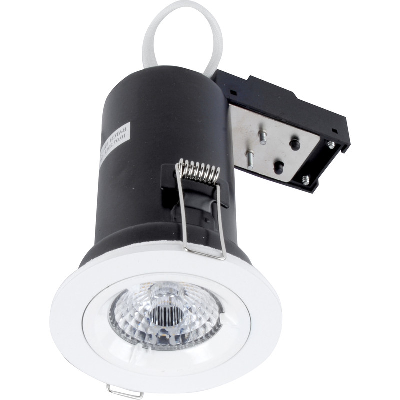 LED 9W Fire Rated Dimmable GU10 Downlight