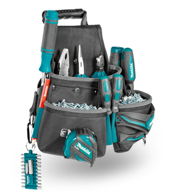 Makita Ultimate 3 Pocket Fixings Pouch
