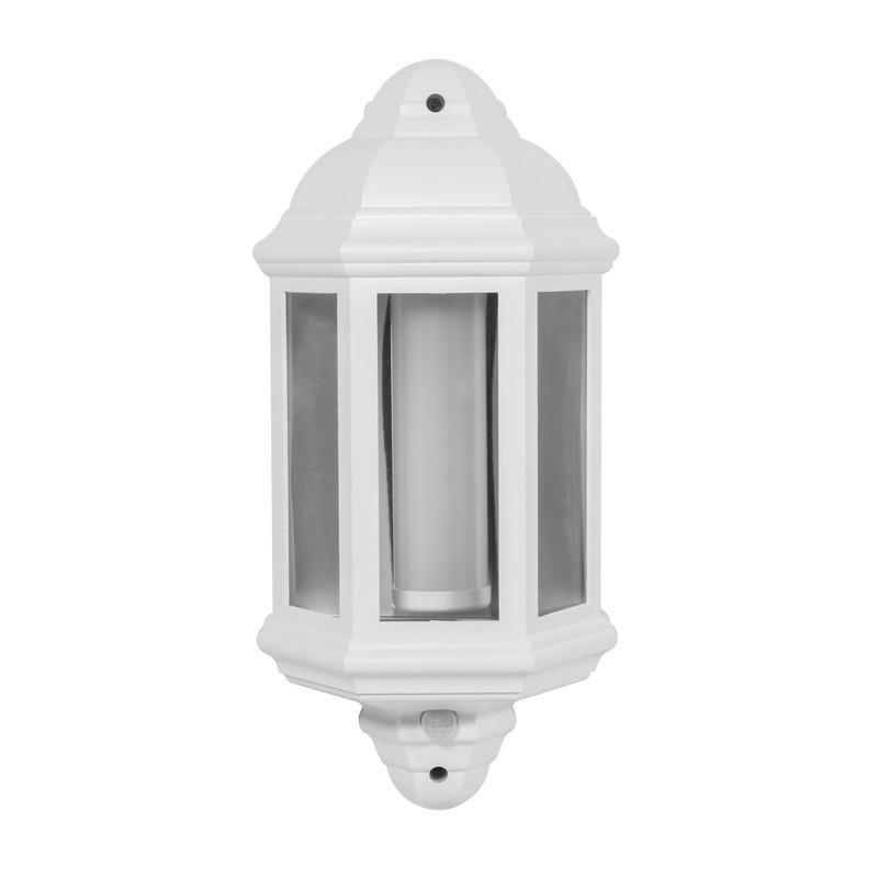 LED IP44 Half Lantern