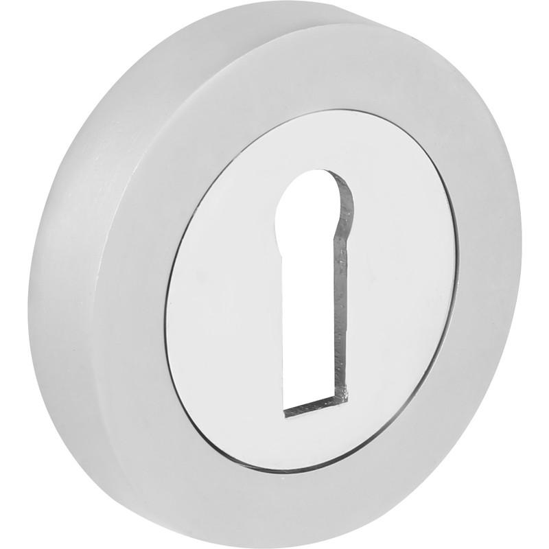Dual Finish Lock Escutcheon