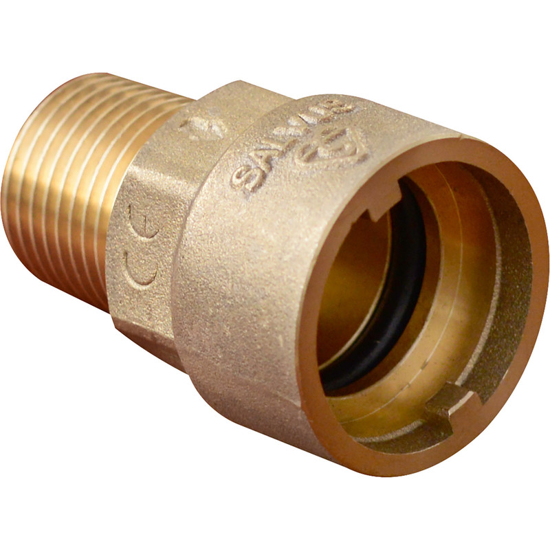 Salvus Gas Straight Bayonet Socket