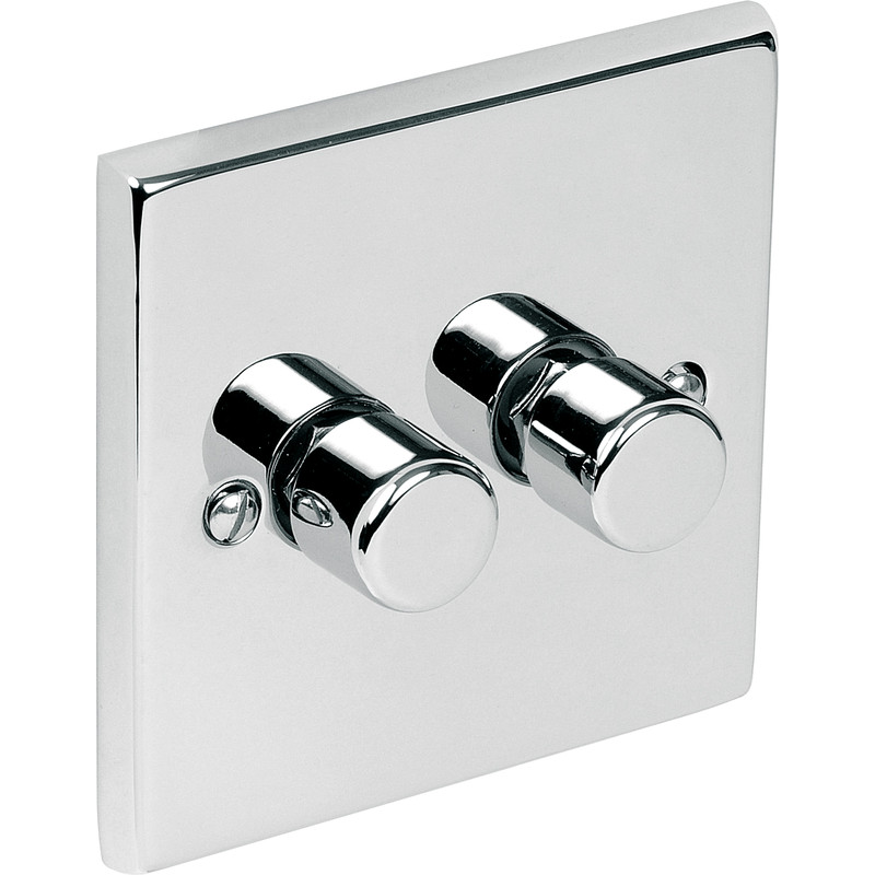 Chrome Dimmer Switch