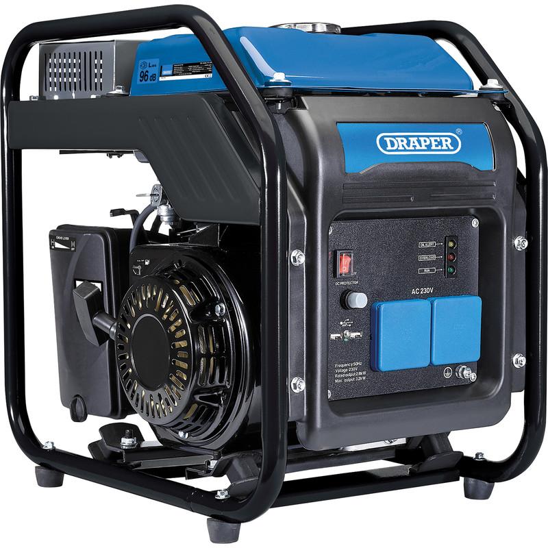 Draper 2.8kW Open Frame Inverter Generator