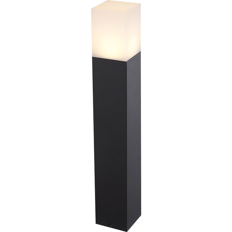 V-TAC GU10 Black Aluminium Outdoor Bollard Light IP54