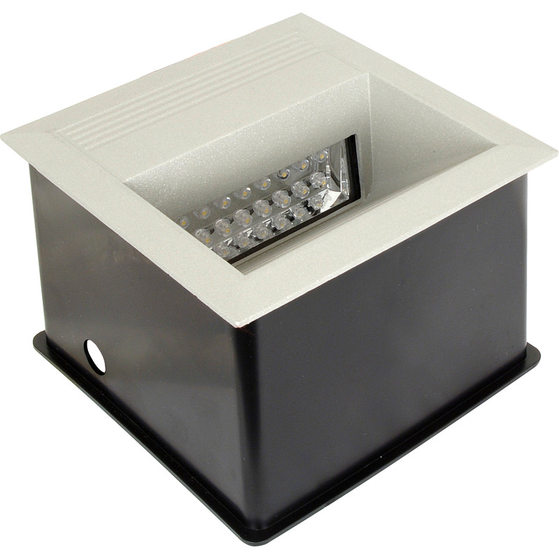LED 1.5W Square Wall Light 230V IP65