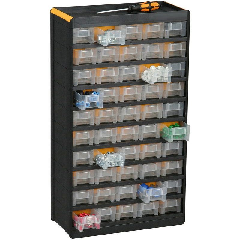 Plastic Small Parts Professional Cabinet