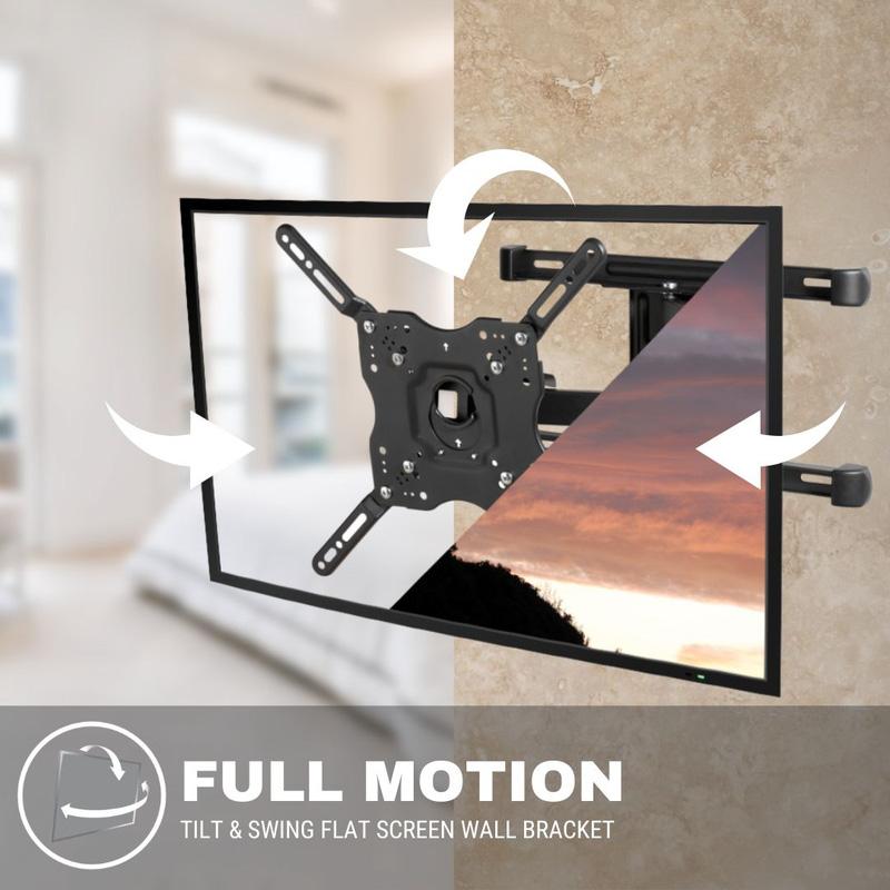 Vivanco BFMO 6640 Full Motion TV Bracket