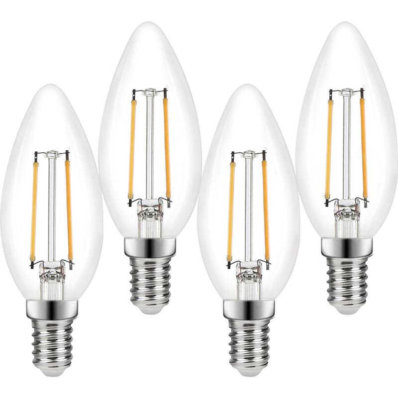 Wessex LED Filament Candle Bulb Lamp