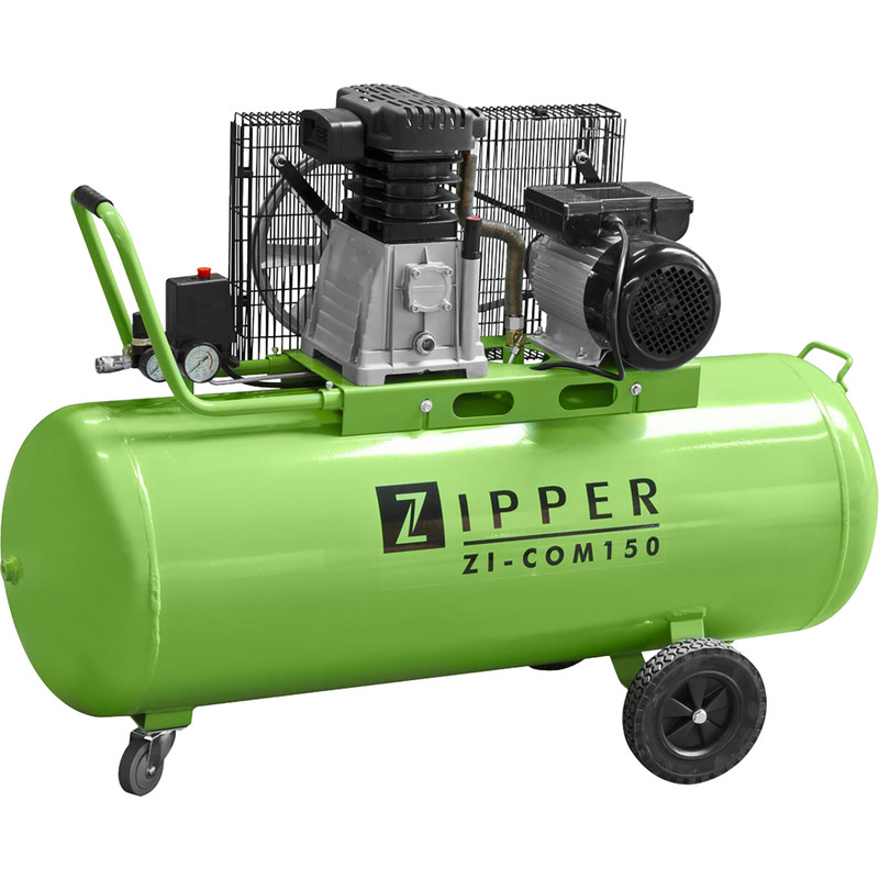 Zipper COM150 150L 3.0 HP Pro Workshop Air Compressor - 8 bar