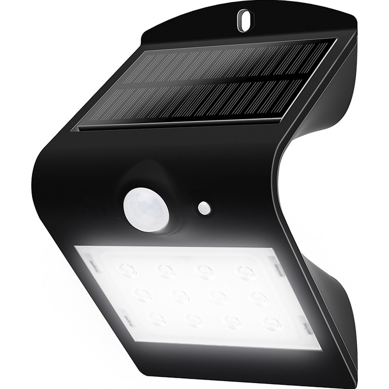 Luceco SOLAR Guardian 1.5W PIR Wall Light IP65