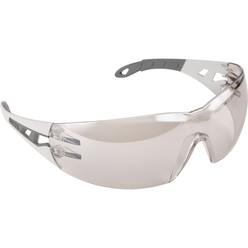 Uvex Pheos Silver Mirror Lens Safety Glasses
