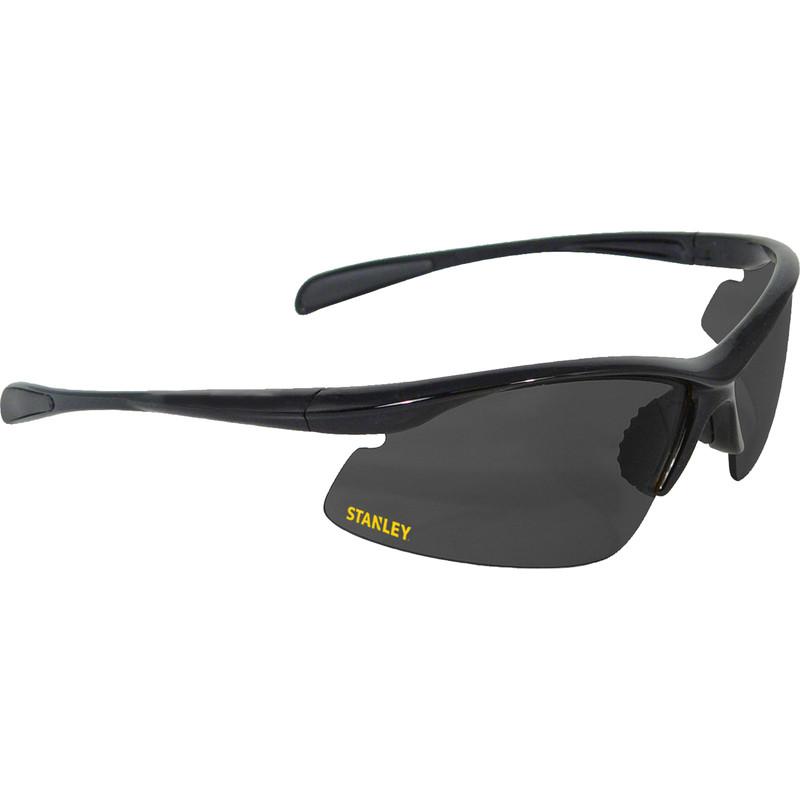 Stanley 10-Base Curved Half-Frame Safety Glasses