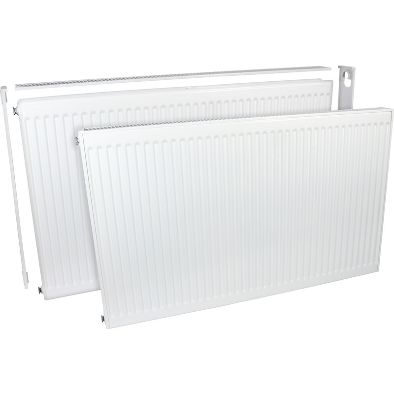 Barlo Delta Compact Type 21 Double-Panel Single Convector Radiator