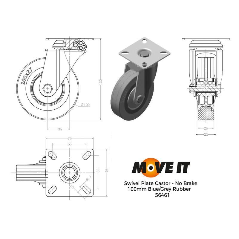 Swivel Wheel Castor
