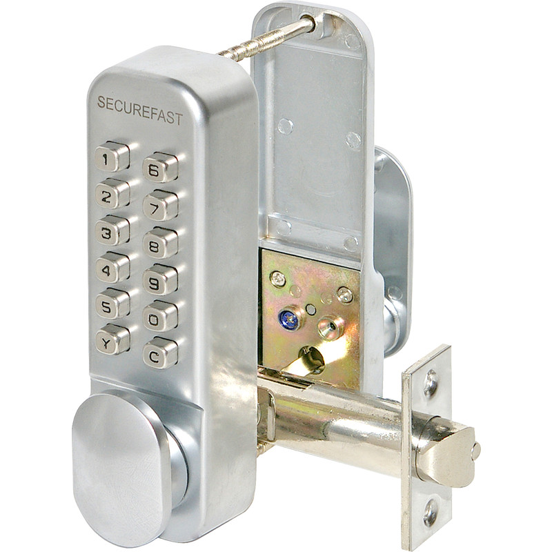Easy Code Digital Lock with Turn